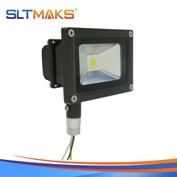 SLTMAKS Outdoor 10W LED Flood light DLC UL CE RoHS ERP FCC IP65