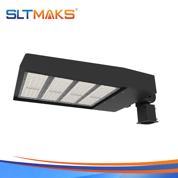 SLTMAKS Factory price 320W LED Shoebox light led parking lot light LED Street light DLC UL