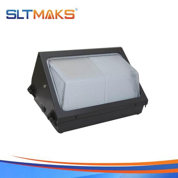 SLTMAKS Outdoor 50W LED Wall pack light DLC UL 5years warranty
