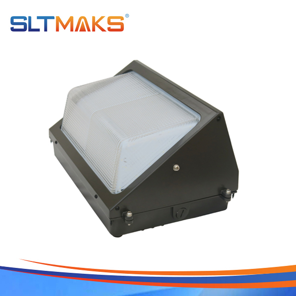 SLTMAKS High power 80W LED Wall pack light DLC UL 5years warranty