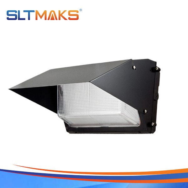 SLTMAKS Outdoor high lumen 100W LED Wall pack light DLC UL Listed