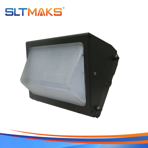 SLTMAKS Outdoor high lumen best price 120W LED Wall pack light DLC UL
