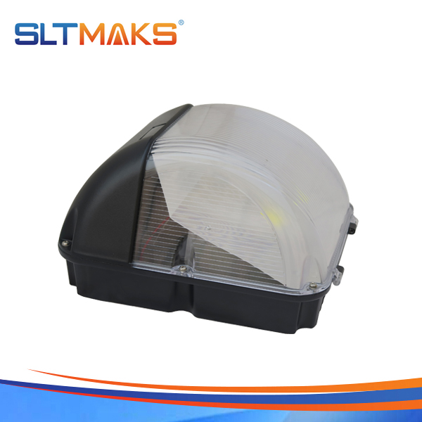 SLTMAKS Outdoor factory 50W LED Wall pack light DLC UL Listed