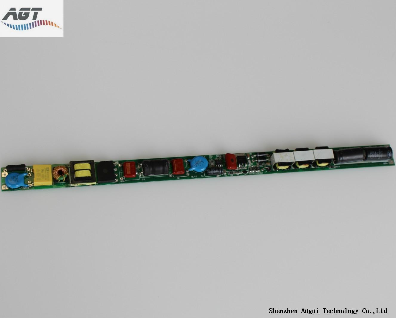 300-380mA non-isolated internal led tube driver