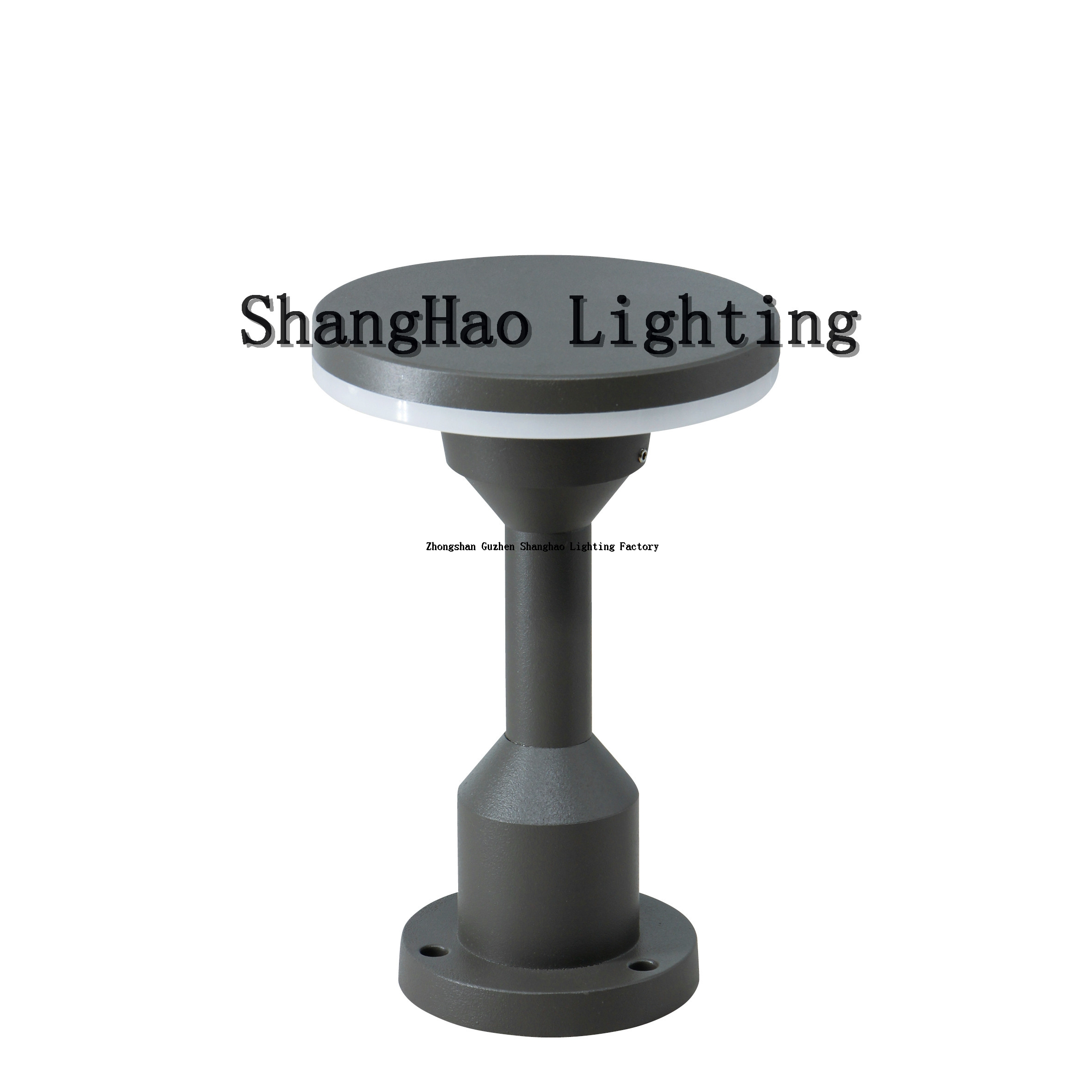 12w Height 23cm Aluminum IP65 Waterproof LED Lawn Light
