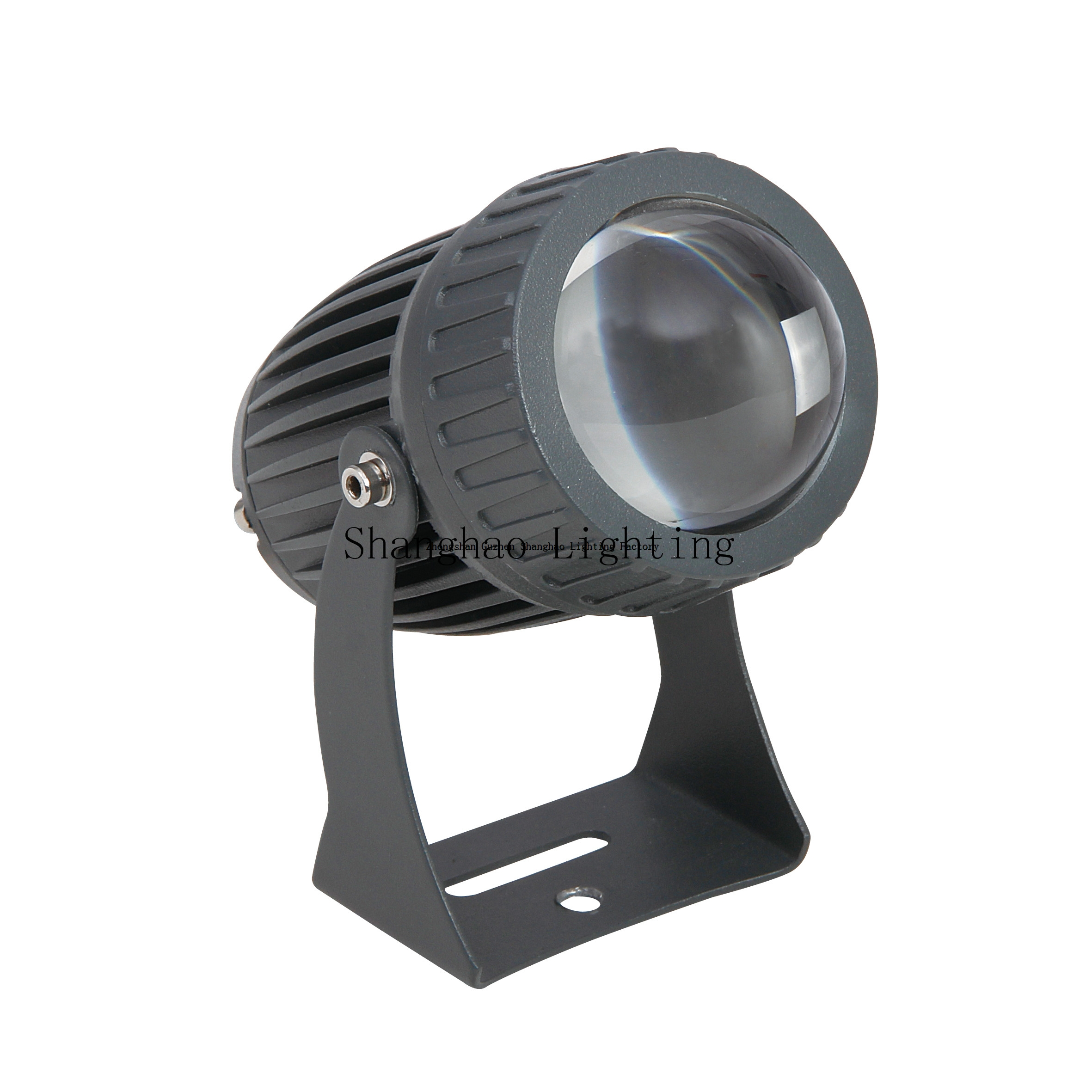 Ip65 Aluminum Outdoor Circle Down Shooting 10W Led Lawn Lamp
