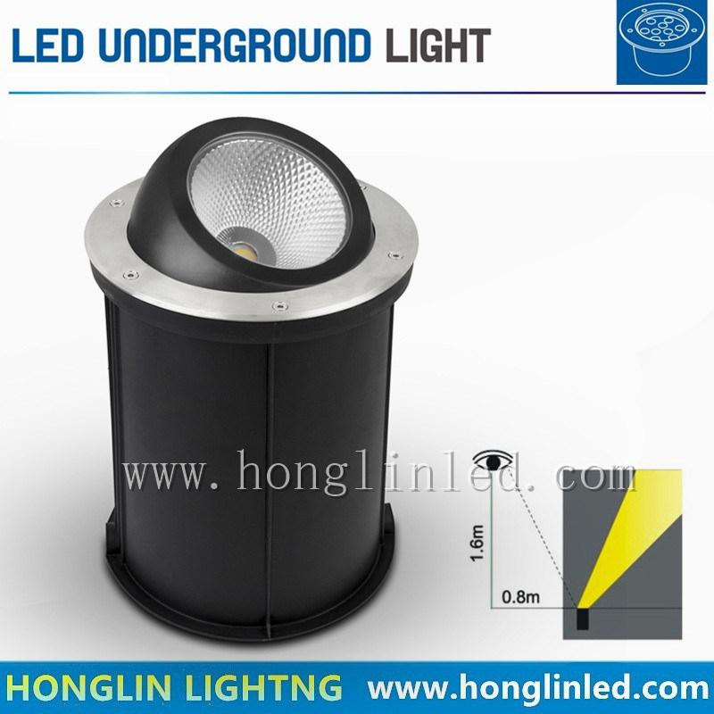 Beam Angle Adjustable 7W LED RGB Underground LED Lighting