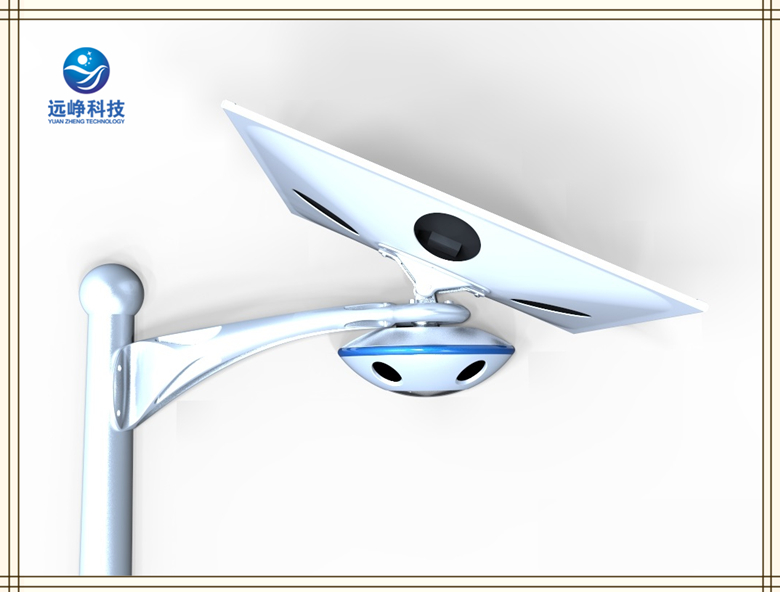 New Patent UFO Smart Solar garden street outdoor area light with WiFi Camera.