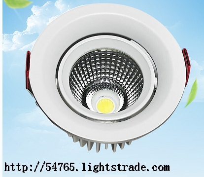 hot sales COB Spot Light Recessed Adjustable Angle indoor ceiling light