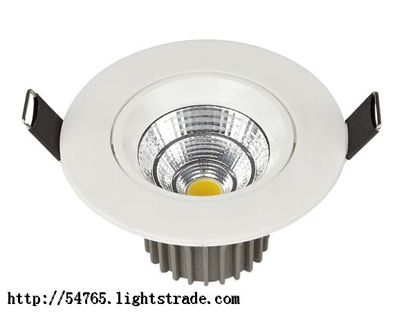 Hot sales COB Spot Light Recessed Adjustable Angle indoor ceiling light