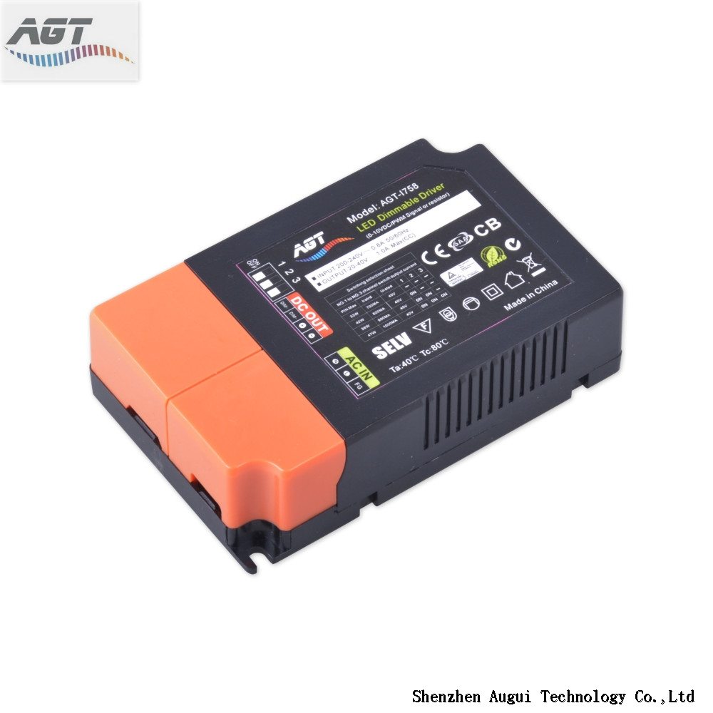 TUV certified single output 0-10v dimmable led driver