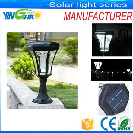 high quality solar post light with good price for post desk garden
