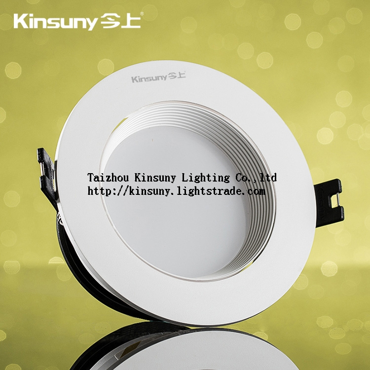 Top quality Dimmable round energy saving recessed 4w 7w 11w led downlight
