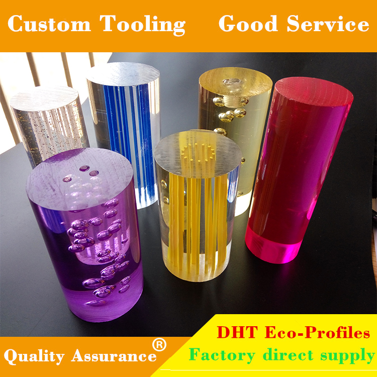 Colorful multi-style acrylic stick rod high quality with reasonable price