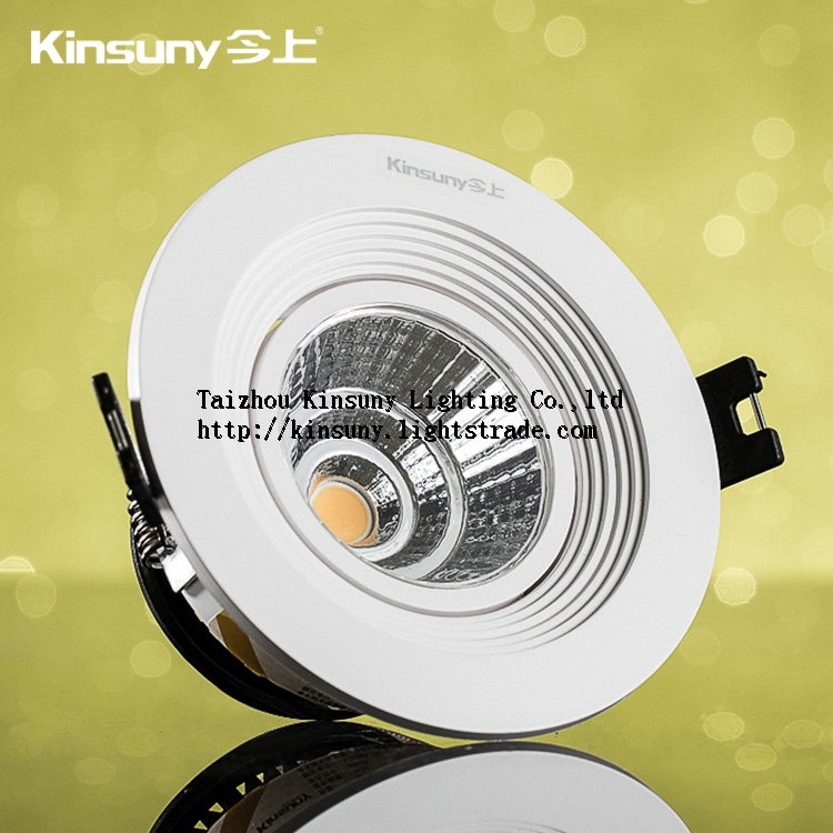 Good price commercial recessed 5w 9w COB led downlight