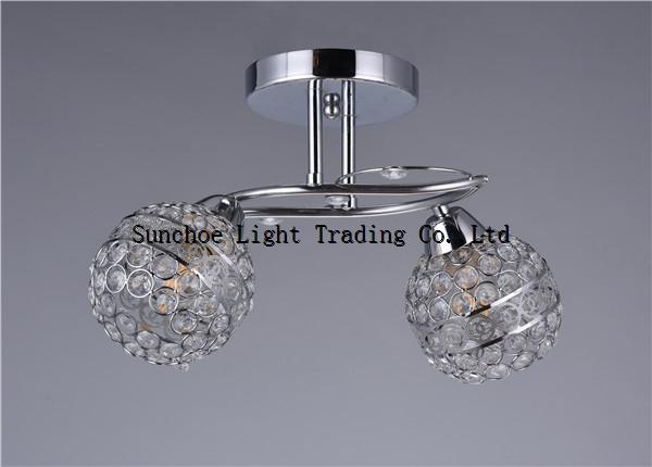 2018 crystal shade ceiling lamp