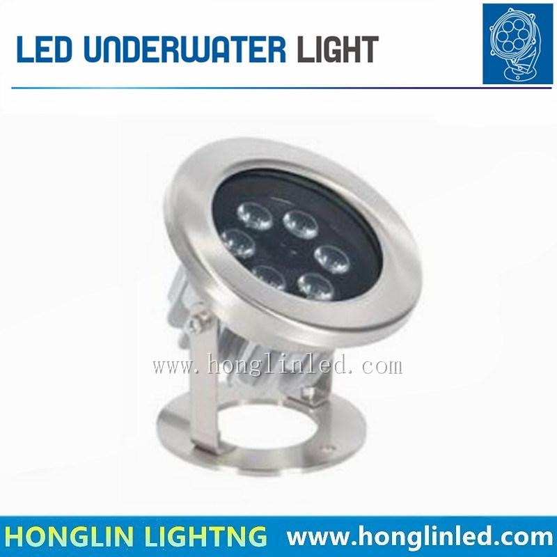 AC DC24V 6W LED Underwater Light IP68 Waterproof Swimming Pool Lights