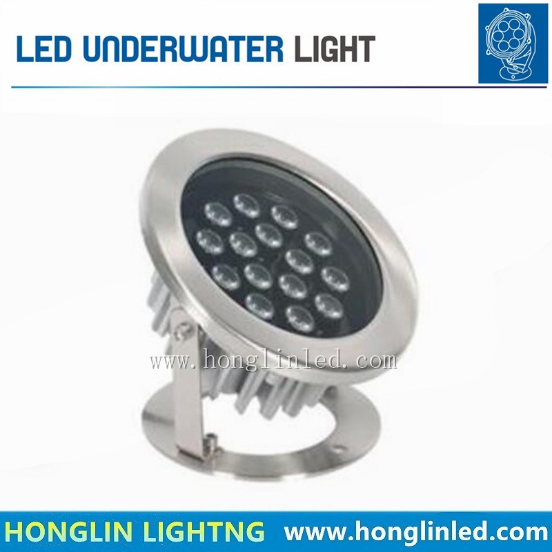 Waterproof IP68 RGB 12W 15W LED Underwater Spot Light for Swimming Pool Fountains