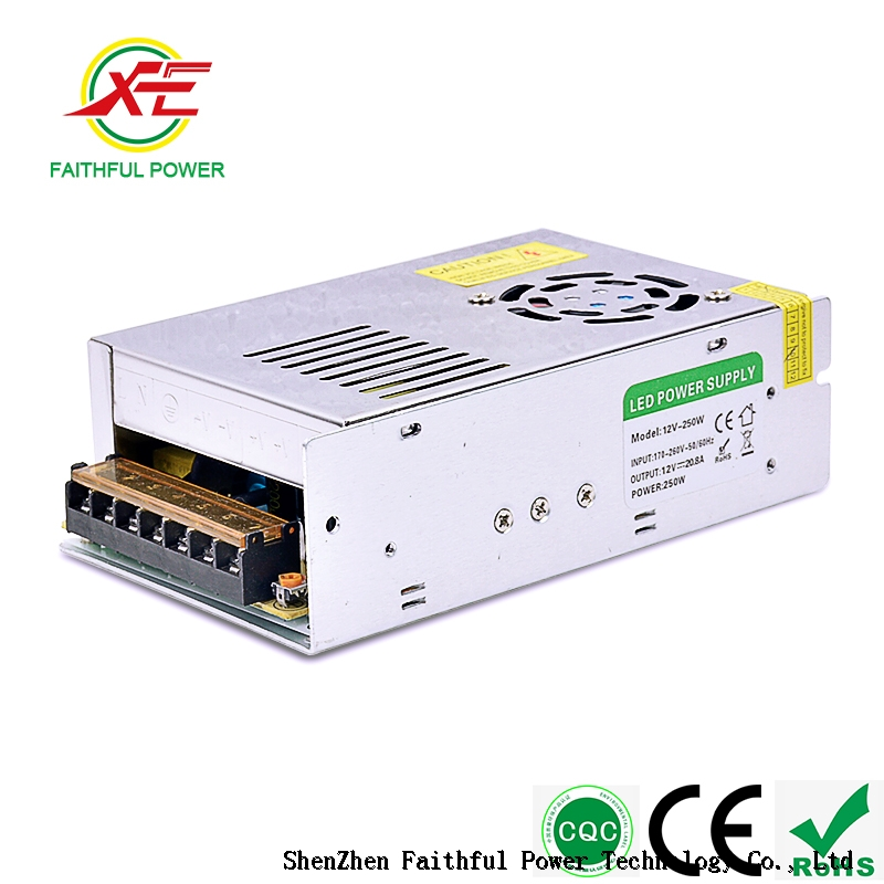 HS Code 12v 24v Adjustable Led Downlight Power Supply 230vac 24vdc