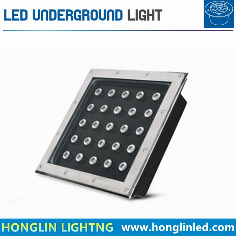 Outdoor Square LED Underground Light for Square Parks 25W in-Ground Light