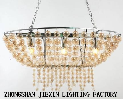 New modern creative personality glass bulb chandelier