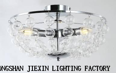 New modern creative personality glass ceiling lamp