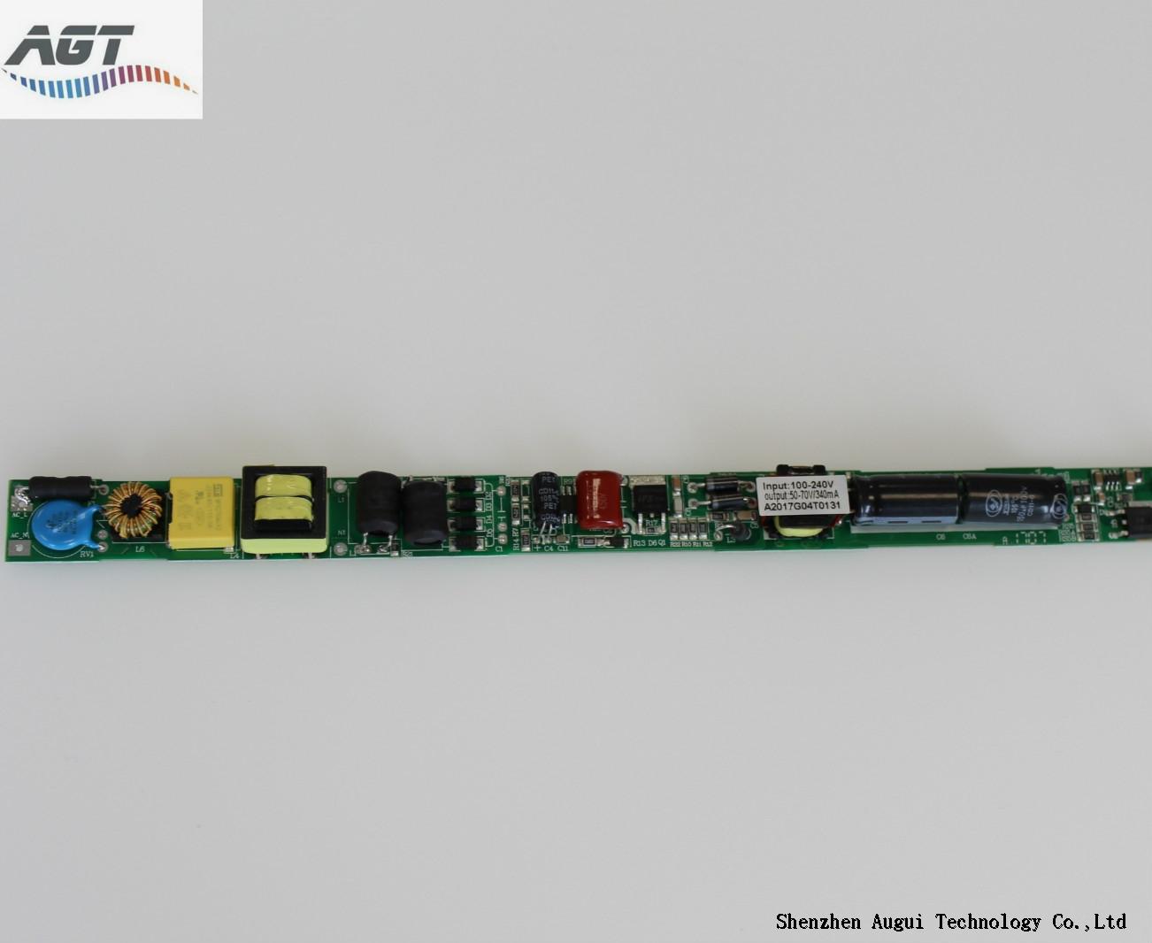 TUV SAA single output 250-300mA led tube driver