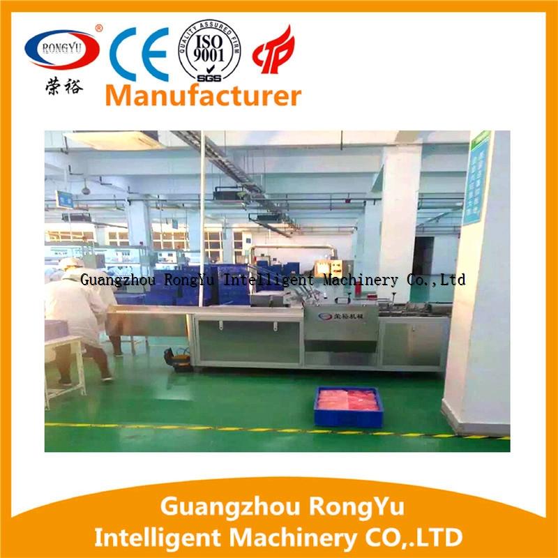 Automatic cartoning box machine line