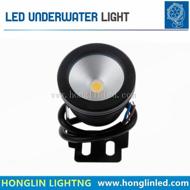 10W LED Underwater Light 12V Remote Fountain Lights Poor Light