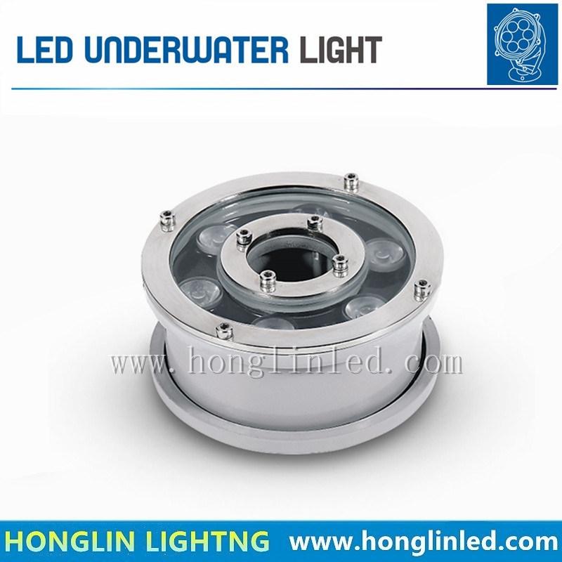 IP68 Waterproof 6W 9W 12W LED Underwater Light