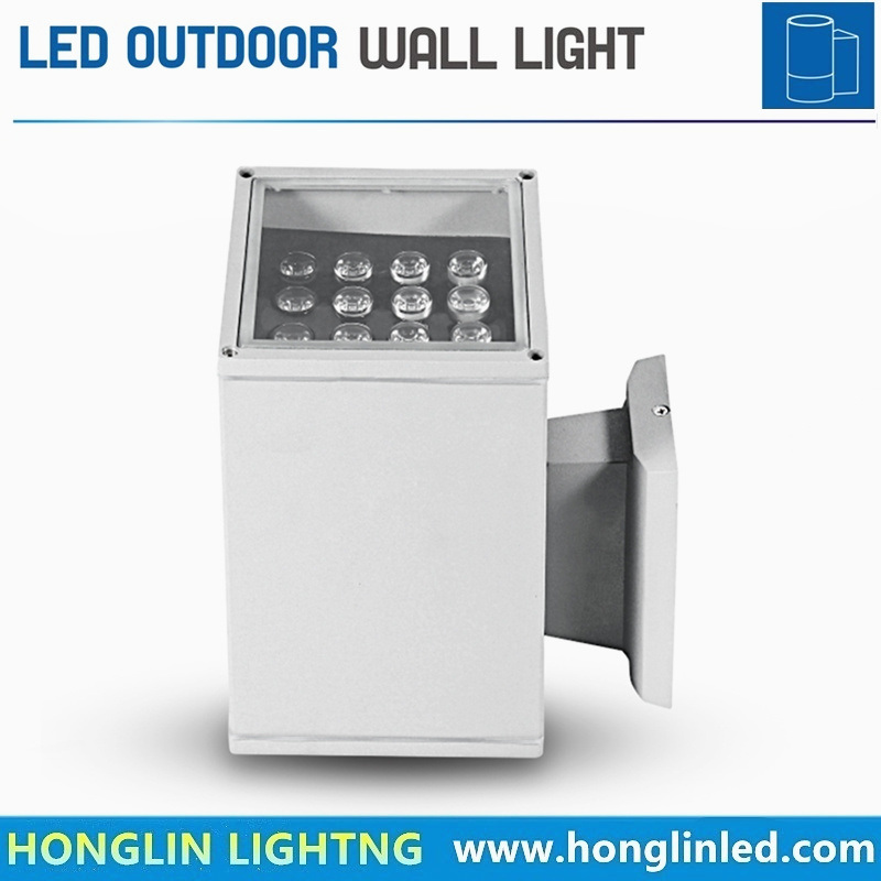 Good Quality 16W Square up and Down Wall Light Outdoor Waterproof Spotlight