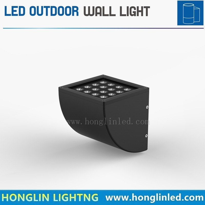 Lighting Intiground16W Cambered LED Outdoor Hotel Wall Light