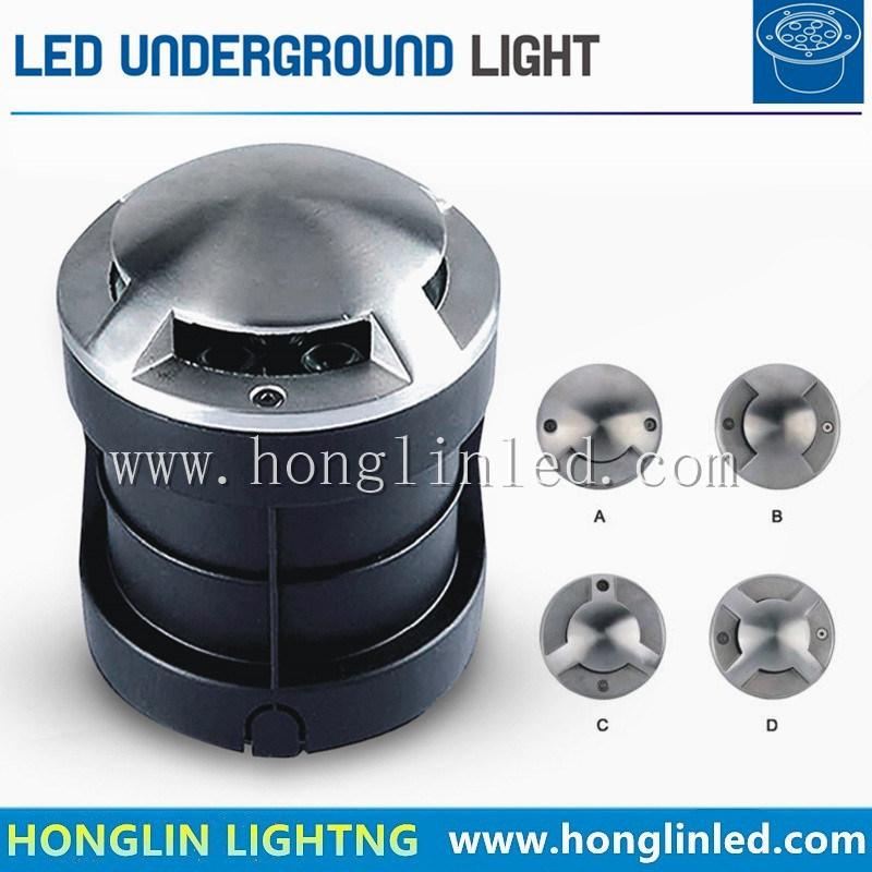 LED Side Inground Lamp 3W Recessed RGB Underground LED Lighting