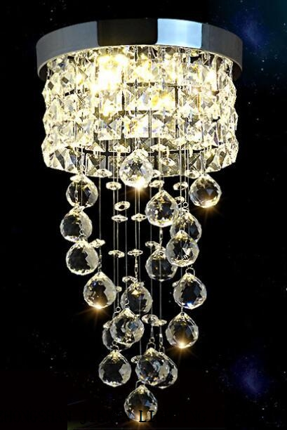 European crystal ceiling lamp modern household crystal ceiling lamp