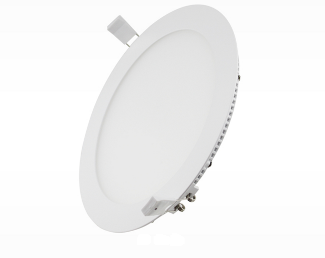 LED circular thin panel light