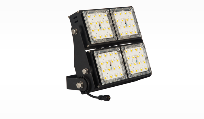 LED flood light module