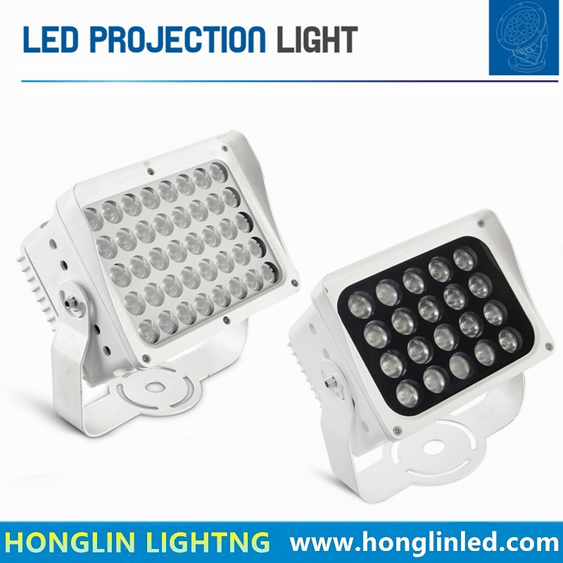 Outdoor IP65 24W 40W LED Floodlight with Light Screen