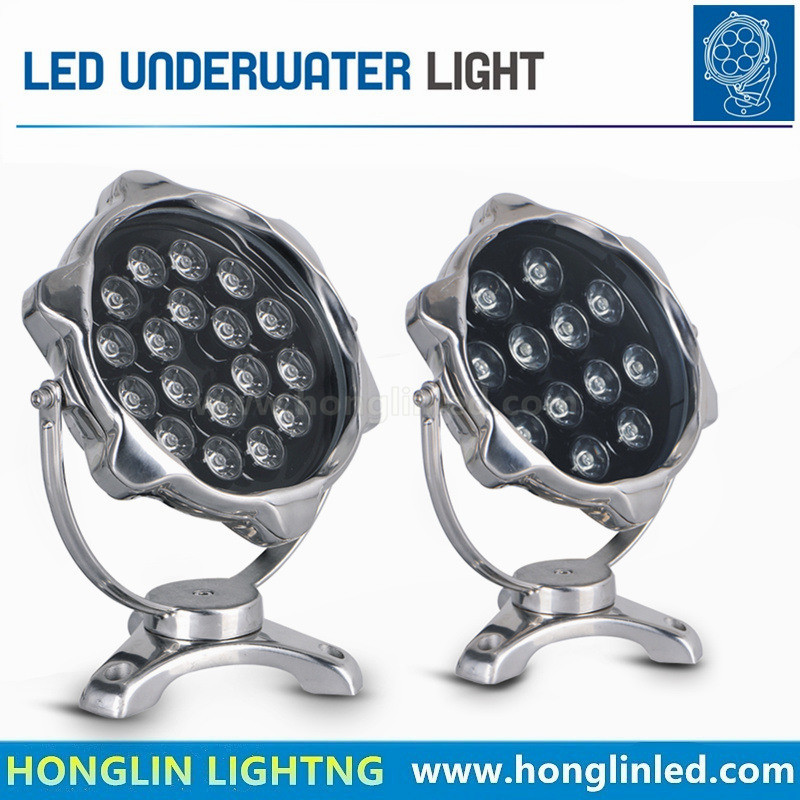 LED Underwater Light 18W Underwater Light for Swimming Pool