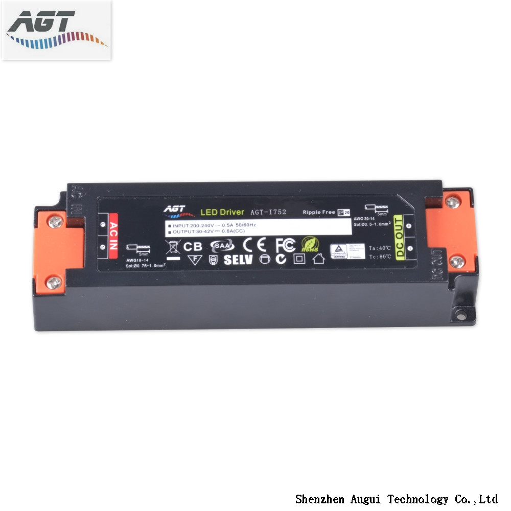 high efficiency single output flicker-free led driver