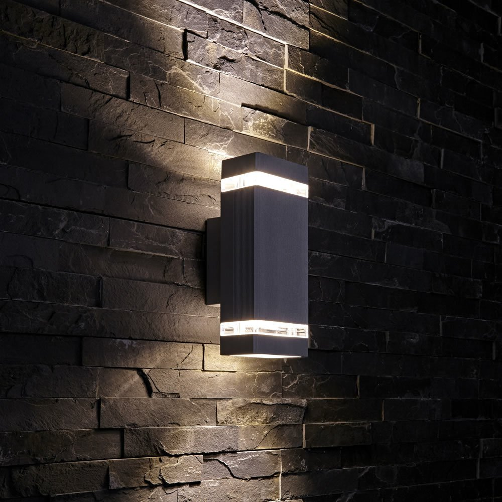 Outdoor waterproof wall light square wall light outdoor wall light