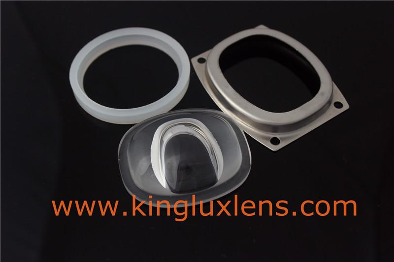 street light glass lens for cob