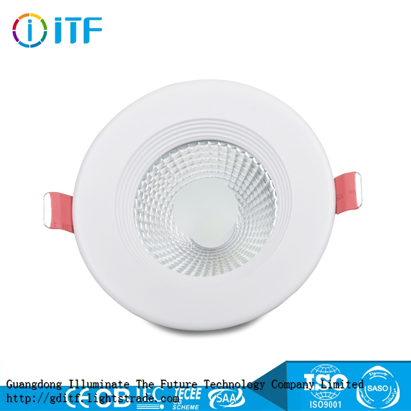 Best selling 10w 15w 30w recessed led cob downlight with frosted glass
