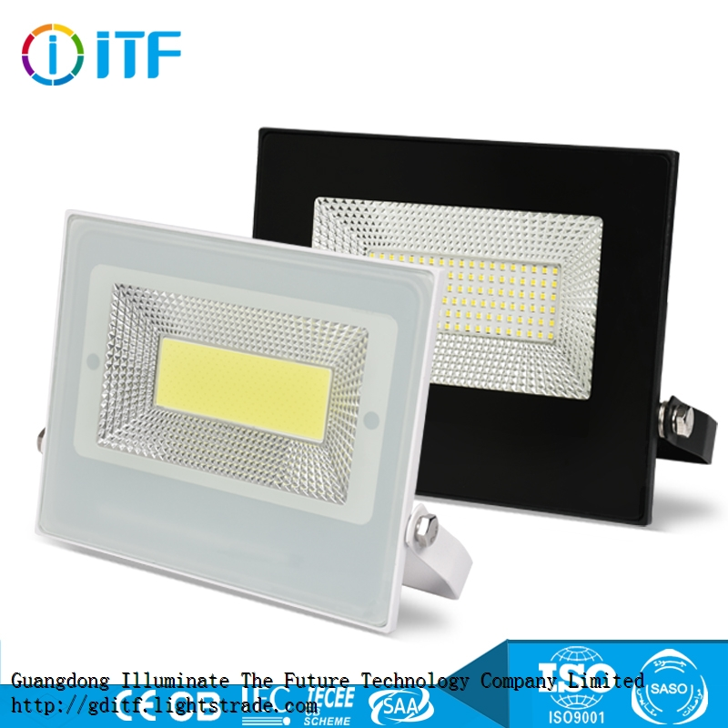 Low Price Die- Casting COB SMD Outdoor Lighting 30 100 150 200 50 Watt LED Flood Light With 2 Years