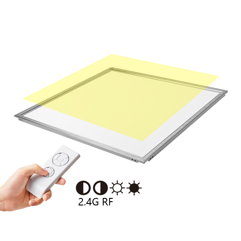36W 40W 600 x 600 mm Square 2.4G RF Wireless Intelligent Control IP65 Ultra-thin LED Ceiling Panel L