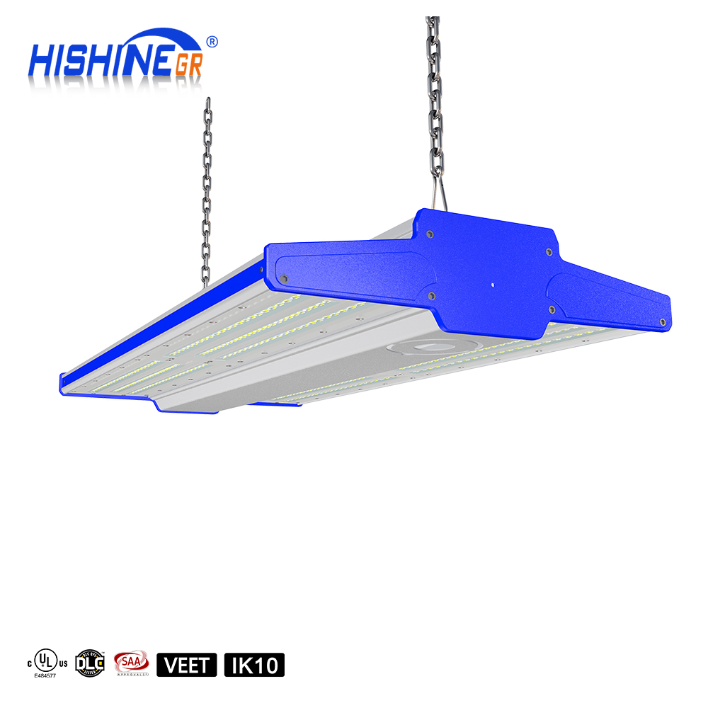 High lumen Indoor industrial lighting LED Linear High Bay Light 200W 250W