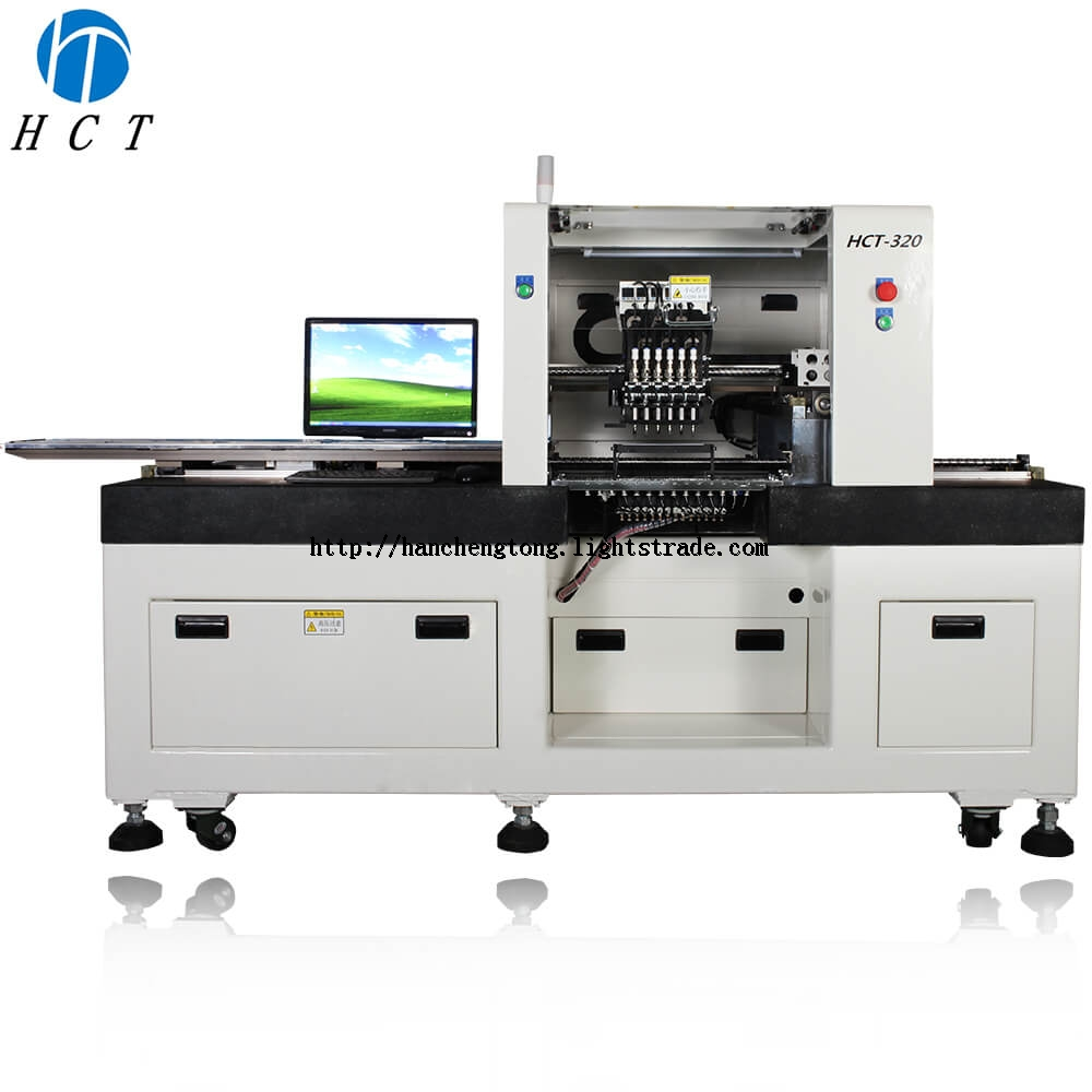 HCT-320 Semi-auto LED Pick and Place Machine