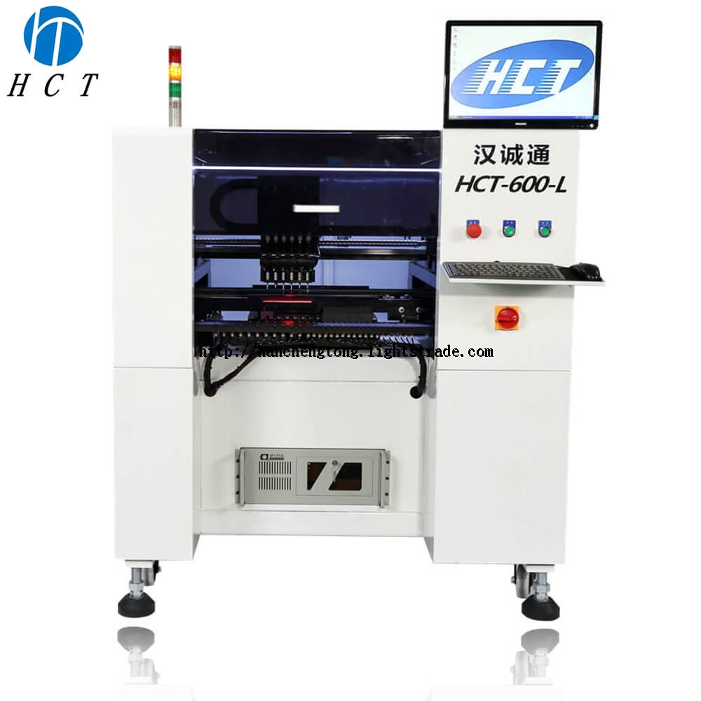 HCT-600-L Multi-Functional SMT Pick and Place Machine