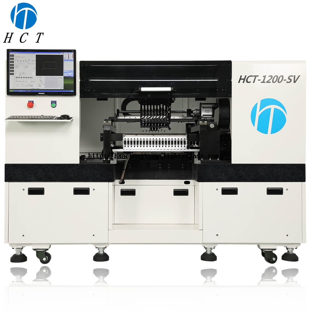 HCT-1200-SV Automatic LED Pick and Place Machine