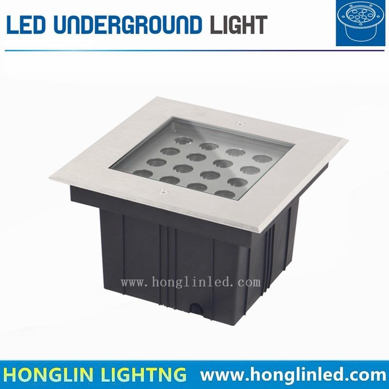 Outdoor Underground LED Lamp 16W IP67 Waterproof Garden Light