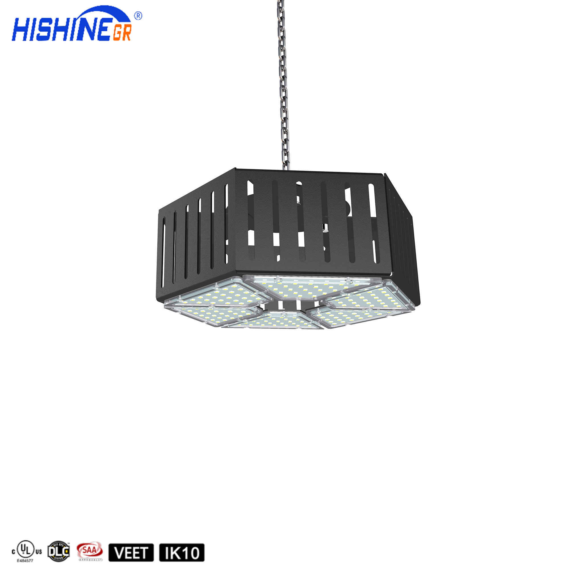 Hollowed Diamond Design Commercial Lighting 70W Led Low Bay Lights